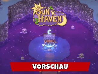 """Das Bild zeigt das Logo von """"Sun Haven""""."""