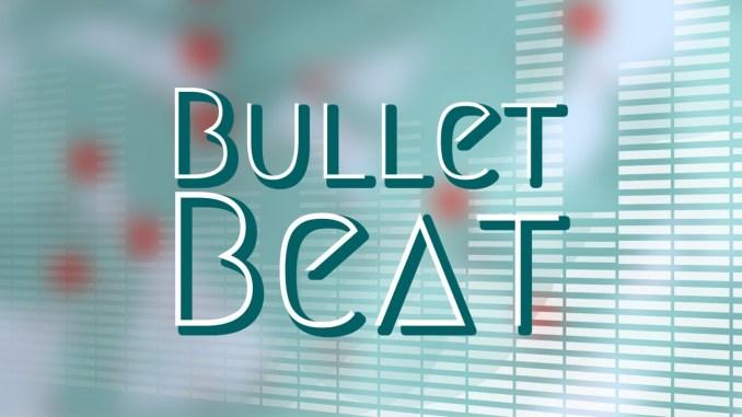 """Das Bild zeigt das Logo von """"Bullet Beat""""."""