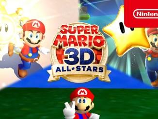 Das Bild zeigt das Logo von Super Mario 3D All-Stars