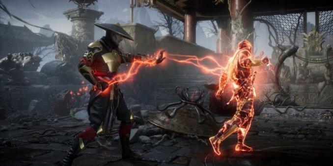 """Das Bild zeigt eine Szene aus dem Spiel """"Mortal Kombat 11""""."""