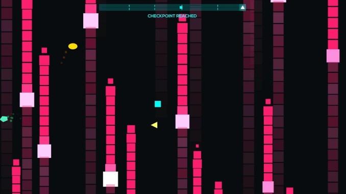 """Das Bild zeigt eine Szene aus dem Spiel """"Just Shapes & Beats""""."""