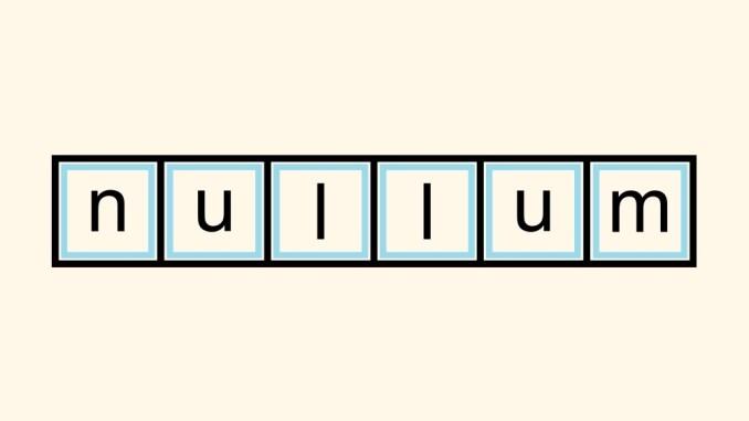 """Das Bild zeigt das Logo von """"Nullum""""."""