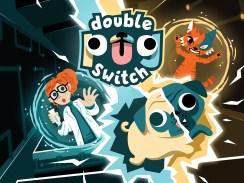 """Das Bild zeigt das Logo von """" Double Pug Switch""""."""