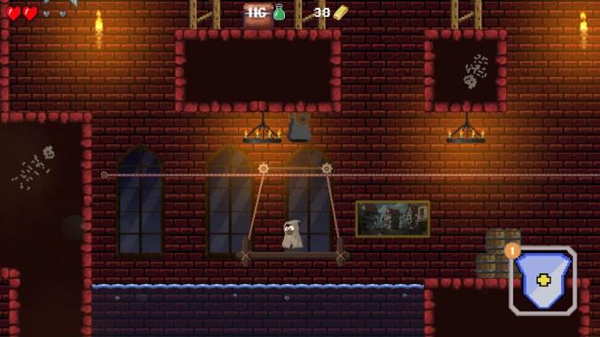 """Das Bild zeigt eine Szene aus dem Spiel """"Restless Hero""""."""