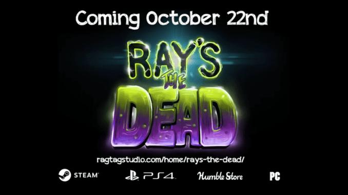 """Das Bild zeigt das Logo von """"Ray's the Dead""""."""