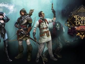 """Das Bild zeigt das Logo von """"Torn Tales: Rebound Edition""""."""