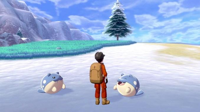 """Das Bild zeigt einen Ausschnitt aus der zweiten Erweiterung zu """"Pokémon Schwert/Schild""""."""