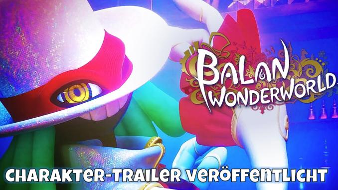 """Das Bild zeigt das Keyartwork von """"Balan Wonderworld""""."""