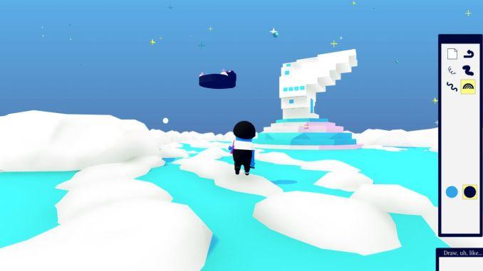 """Das Bild zeigt eine Szene aus dem Spiel """"Art Sqool""""."""