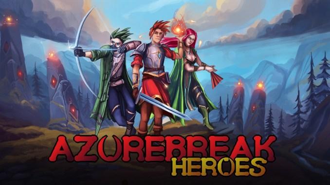 """Das Bild zeigt das Logo von """"Azurebreak Heroes""""."""