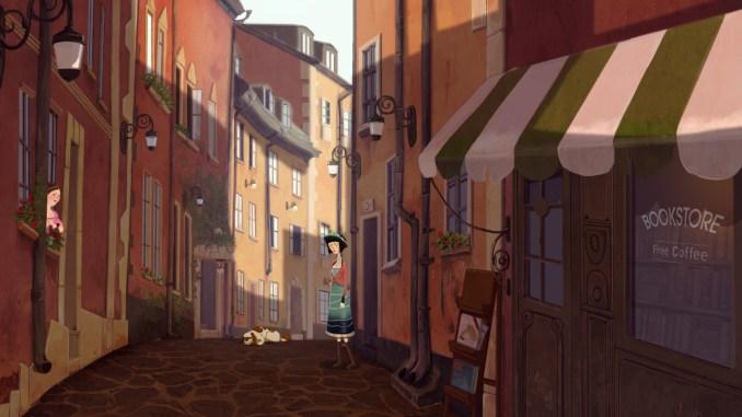 """Das Bild zeigt eine Szene aus dem Spiel """"Memoranda""""."""