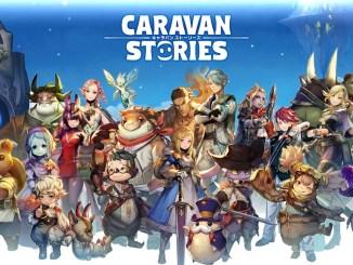 """Das Bild zeigt das Logo von """"Caravan Stories""""."""