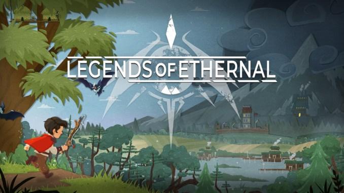 """Das Bild zeigt das Logo von """" Legends of Ethernal """"."""