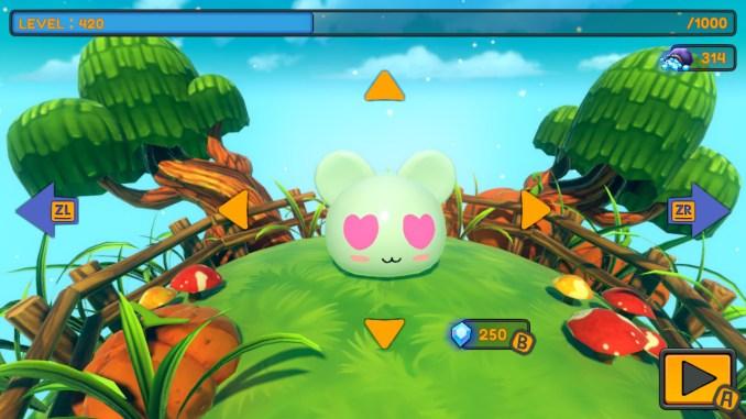 """Das Bild zeigt eine Szene aus dem Spiel """"Fall Gummies""""."""
