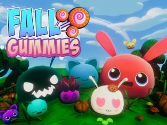 """Das Bild zeigt das Logo von """"Fall Gummies""""."""