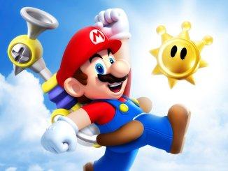 """Das Bild zeigt eine Szene aus dem Spiel """"Super Mario Sunshine"""", welches Einflüssen aus der Kindheit des Entwicklers unterlag."""
