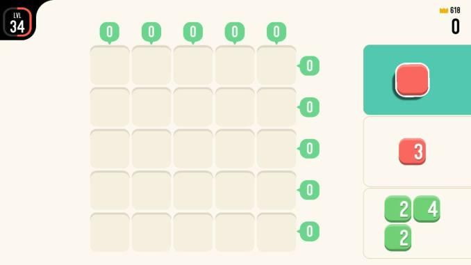 """Das Bild zeigt das grundlegende Spielprinzip von """"TENS!"""""""