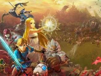 """Das Bild zeigt eine Szene aus dem Spiel """" Hyrule Warriors: Age of Calamity""""."""