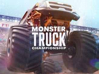 """Das Bild zeigt das Logo von """"Monster Truck Championship""""."""