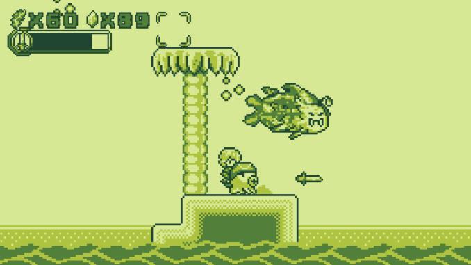 """Das Bild zeigt eine Szene aus dem Spiel """"Save me Mr Tako""""."""