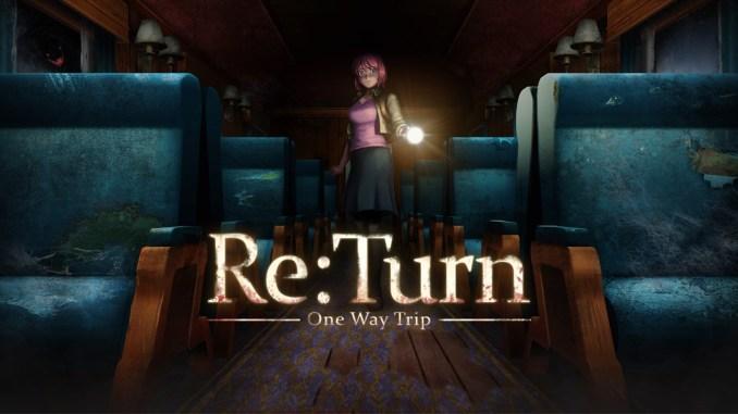 """Das Bild zeigt das Logo von """"Re:Turn - One Way Trip""""."""