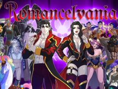 """Das Bild zeigt das Logo von """"Romancelvania""""."""
