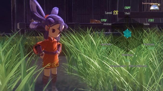 """Das Bild zeigt eine Szene aus dem Spiel """" Sakuna: Of Rice and Ruin""""."""