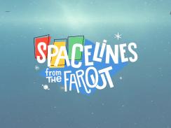 """Das Bild zeigt das Logo von """"Spacelines from the Far Out""""."""