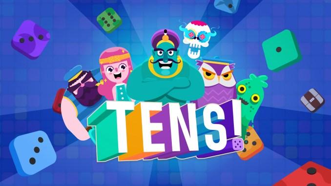 """Das Bild zeigt das Logo von """"TENS!""""."""