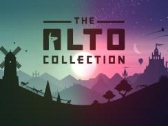 """Das Bild zeigt das Logo von """"The Alto Collection""""."""