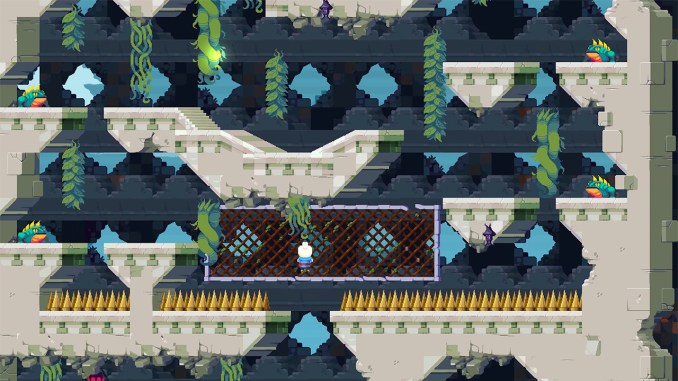 """Das Bild zeigt eine Szene aus dem Spiel """"YesterMorrow""""."""
