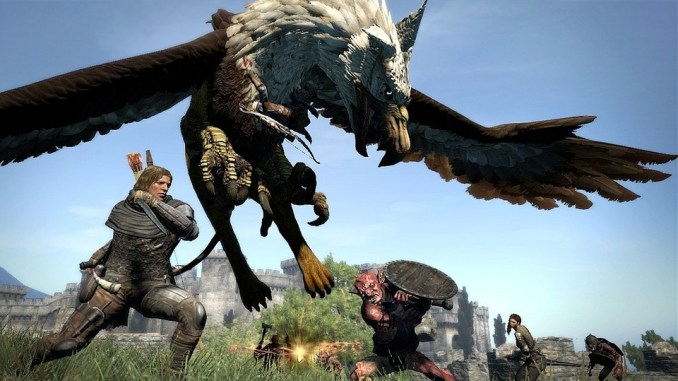 """Das Bild zeigt die Action in """"Dragon's Dogma"""". Laut Capcom-Hack befindet sich ein neuer Titel in Entwicklung."""