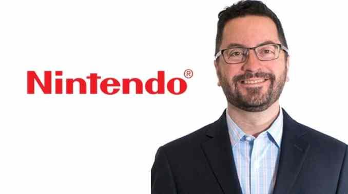 Das Bild zeigt Nick Chavez, Senior Vice President für Vertrieb und Marketing bei Nintendo of America. Er gab Details zum Black Friday Sale bei Nintendo bekannt.