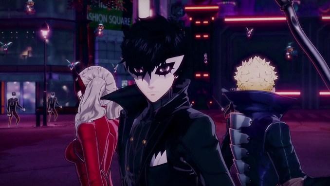 """Das Bild zeigt die Helden aus """"Persona 5 Scramble: The Phantom Strikers""""."""
