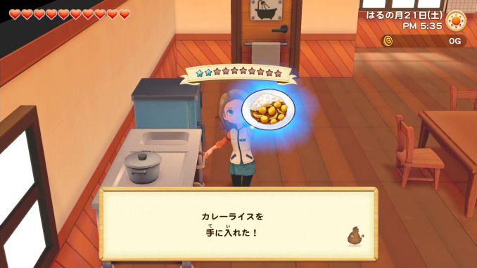 """Das Bild zeigt eine Szene aus dem Spiel """"Story of Seasons: Pioneers of Olive Town""""."""
