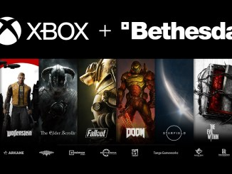 Das Bild zeigt das Logo von XBox und Bethesda.