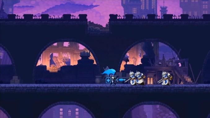 """Das Bild zeigt eine Kampfszene aus """"Skul: The Hero Slayer""""."""