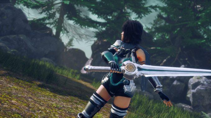 """Das Bild zeigt eine Szene aus dem Spiel """" AeternoBlade II""""."""