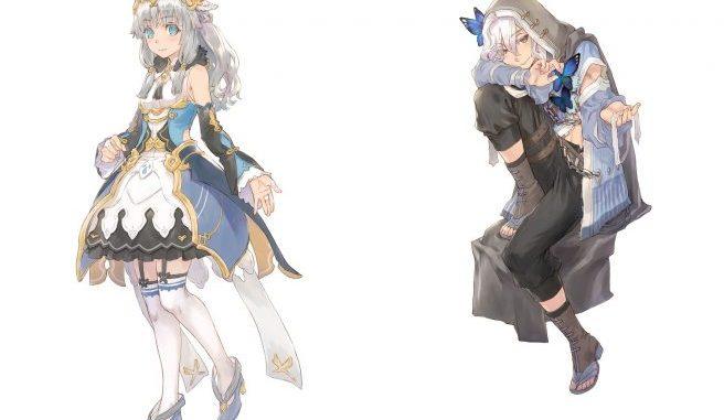 """Das Bild zeigt die beiden neu vorgestellten Charaktere von """"Rune Factory 5"""" Beatrice und Lucas."""
