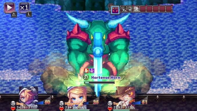 """Das Bild zeigt eine Szene aus dem Spiel """"Crystal Ortha""""."""