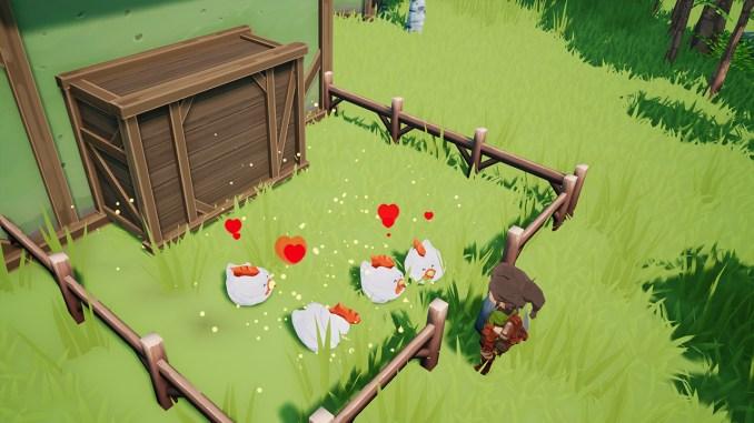 """Das Bild zeigt eine Szene aus dem Spiel """"Farm Folks""""."""