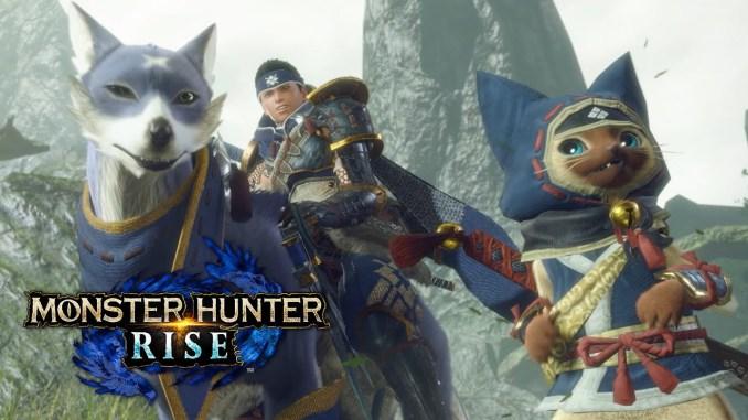 """Das Bild zeigt den normalen Stil von """"Monster Hunter Rise""""."""