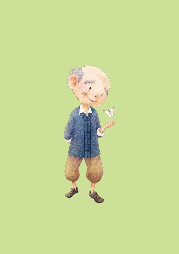 """Das Bild zeigt einen Dorfbewohner aus dem Spiel """"STORY OF SEASONS: Pioneers of Olive Town""""."""