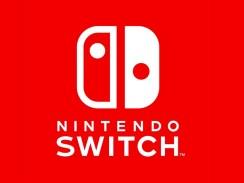 Zu sehen ist das Logo der Konsole Nintedno-Switch