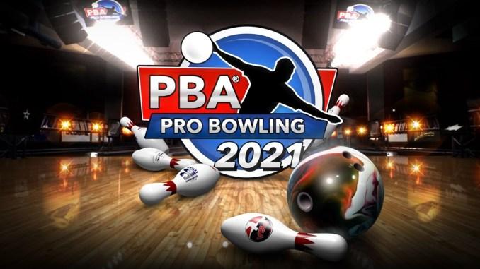 """Keyart von """"PBA Pro Bowling 2021""""."""