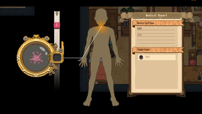 """Das Bild zeigt eine Szene aus dem Spiel """"Potion Permit""""."""