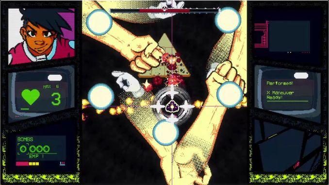 """Das Bild zeigt eine der Welten von """"Project Starship X"""" p.s. du hast reingeschaut ;)"""