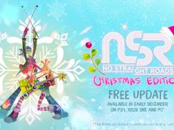 """Das Bild zeigt das Logo der """"Christmas Edition"""" von """"No Straight Roads""""."""