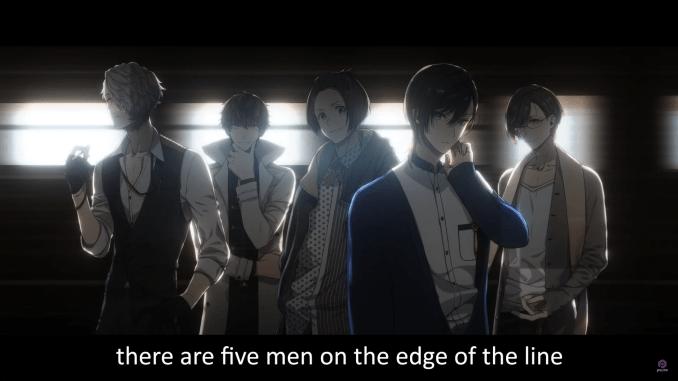 """Das Bild zeigt die fünf Bachelors aus dem Spiel """"Bustafellows""""."""