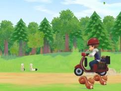 """Das Bild zeigt eine Szene aus dem Spiel """"STORY OF SEAONS: Pioneers of Olive Town""""."""